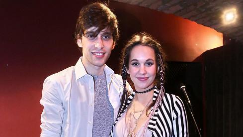 Zpěvačka Míša Tomešová s manželem Romanem