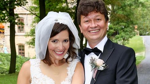 Karel Janák a Romana Goščíková se vzali.