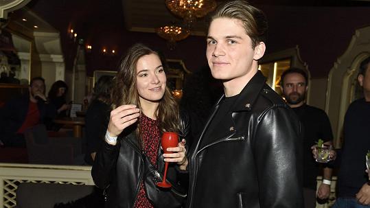 Andrea Bezděková s přítelem Pavlem