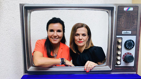 Marta Jandová s bývalou macechou Martinou Jandovou
