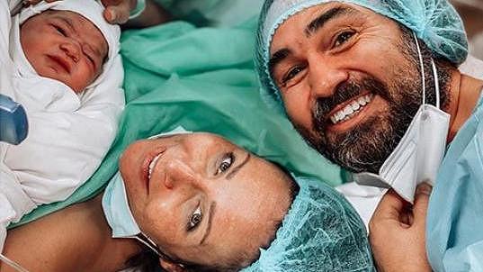 Veronika Arichteva porodila syna.