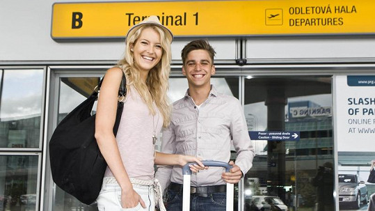 Jitku Nováčkovou na letiště nedoprovodil přítel Marek, ale jiný muž.