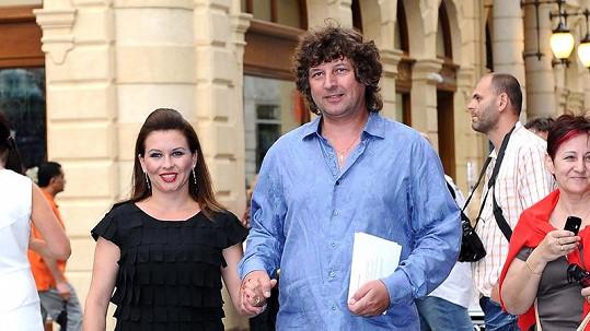 Dana Morávková s manželem Petrem Maláskem.