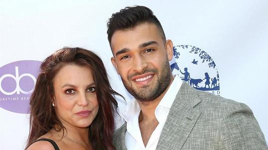 Britney Spears s partnerem Samem Asgharim
