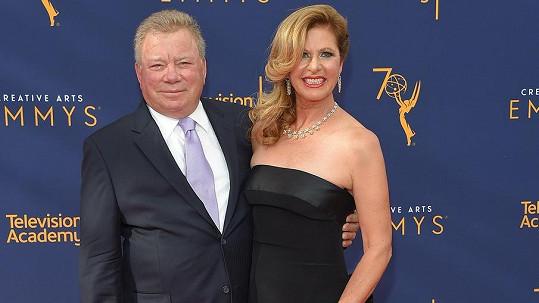 William Shatner s exmanželkou Elizabeth Anderson Martin