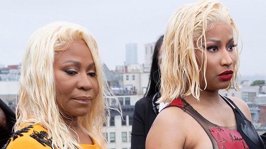 Nicki Minaj s maminkou Carol Maraj.