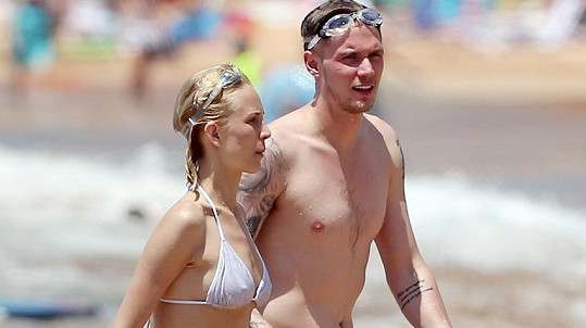Barron Hilton a jeho holka