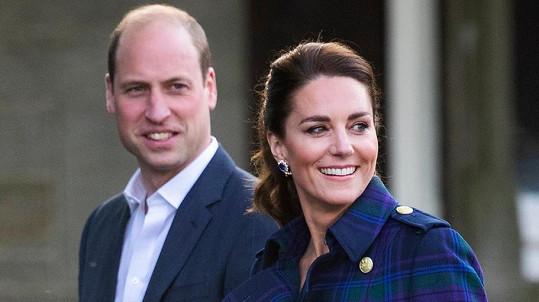 Vévodkyně Kate s princem Williamem ve Skotsku
