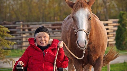 Marika a její kůň Lariot