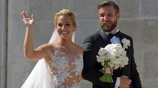 Dominika Cibulková už je vdanou paní.