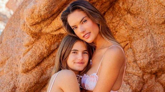 Alessandra Ambrosio s dcerou
