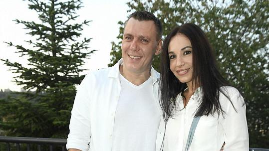 Michaela Kuklová a její přítel Josef se rozešli.