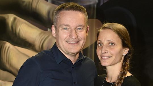 Vladimír Hron s ženou