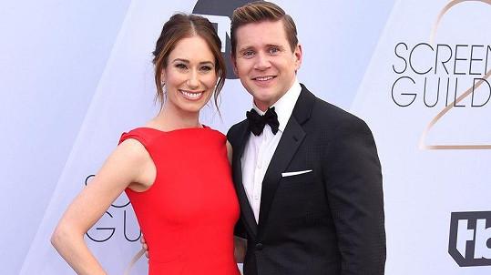 Allen Leech a Jessica Blair Herman