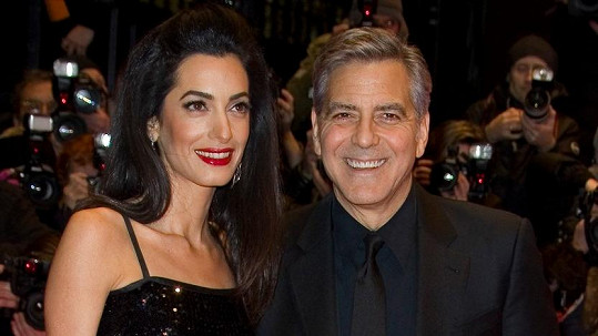Manželé George a Amal Clooney