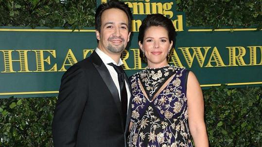Lin-Manuel Miranda a jeho žena Vanessa Nadal