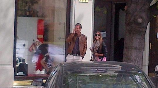 Tomáš Berdych se svojí Ester.