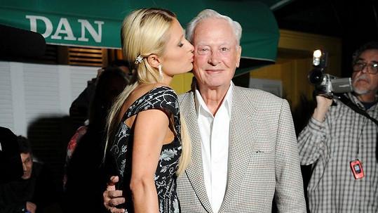 Paris Hilton se zesnulým dědečkem Barronem