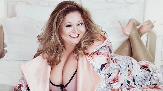 Boubelka Aneta Christovová na sexy snímku