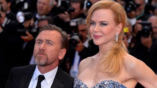 Nicole Kidman s Timem Rothem na premiéře jejich nového filmu v Cannes