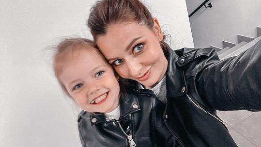 V rodině Kadeřábkových trpí nemocí maminka Tereza a dcerka Ema.