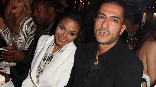 Janet Jackson s manželem