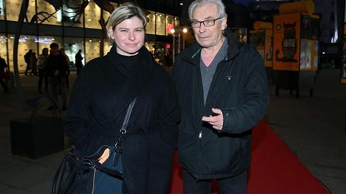 Alois Švehlík s jednou ze svých dcer