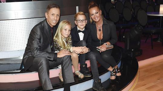 Zdeněk Chlopčík s rodinou