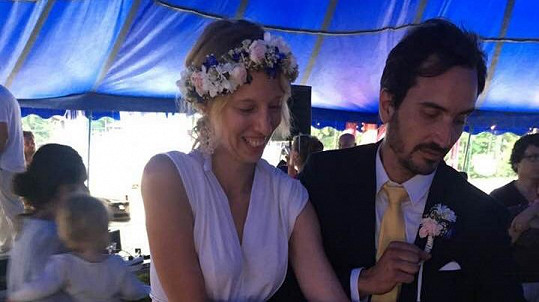Režisérka Rozálie Kohoutová se o víkendu vdala.