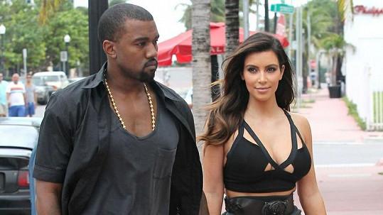 Nastávající rodiče Kim Kardasihan a Kanye West.