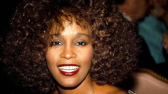 Zpěvačka Whitney Houston