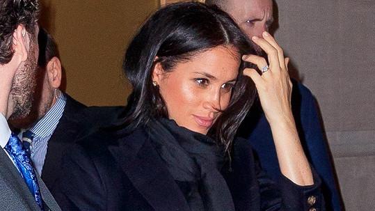 Vévodkyně Meghan je na soukromé návštěvě New Yorku.