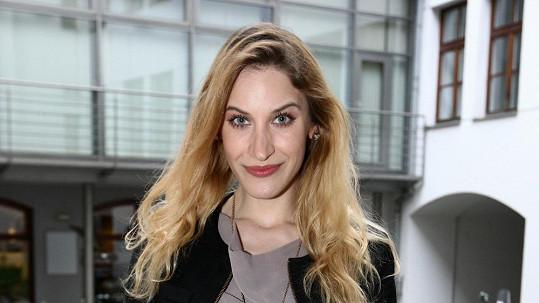Marie Kružíková je jednou z nejkrásnějších mladých hereček.