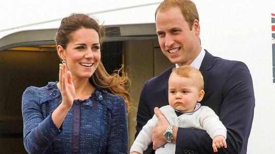 Královská rodinka se v příštím roce rozšíří, kamery budou u toho.