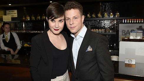 Jan Onder a jeho nová přítelkyně Lumíra
