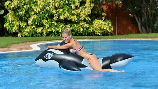 Michaela Gemrotová si užívá na ostrově Gran Canaria