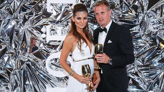 David Limberský s přítelkyní Lenkou Olbertovou