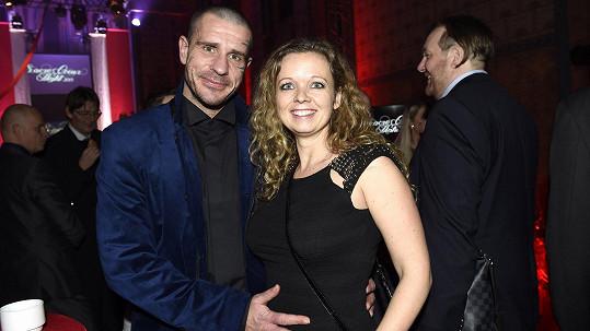 Robert s přítelkyní Petrou