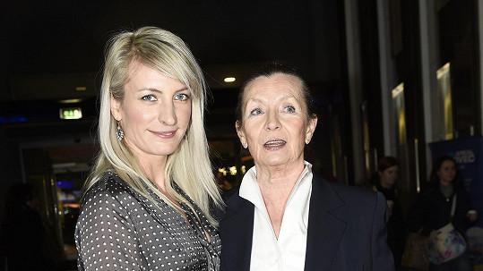 Anna Polívková s maminkou Evelynou Steimarovou