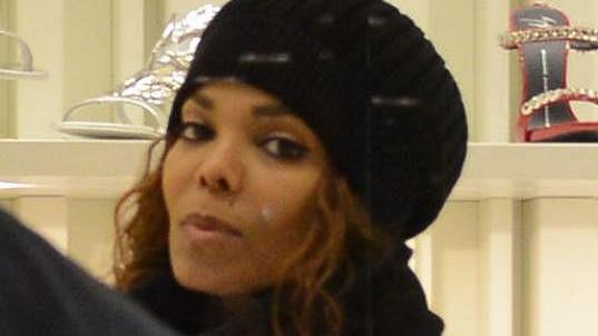 Janet Jackson v Miláně nakupovala boty.