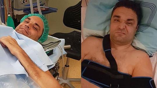 Martin Zach je po operaci.