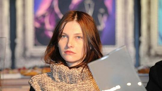 Iva Frühlingová bez make-upu.