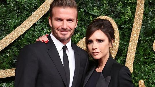 Manželé Beckhamovi