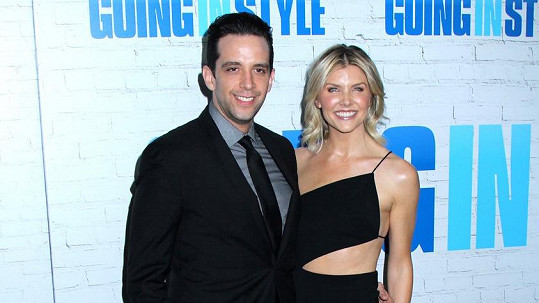 Nick Cordero s manželkou Amandou Kloots