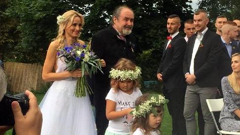 Petr Novotný s dcerou Soniou