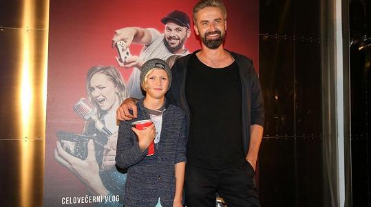 Roman Zach se synem