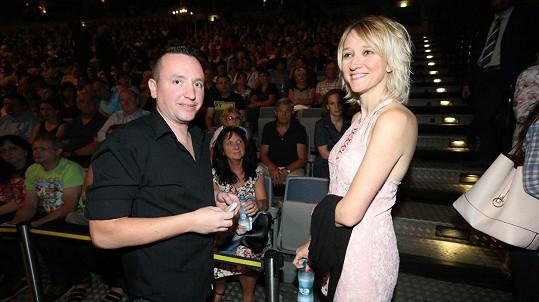 Lucie Kovaříková s manželem