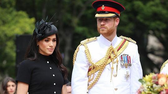 Princ Harry s manželkou Meghan v australském Sydney