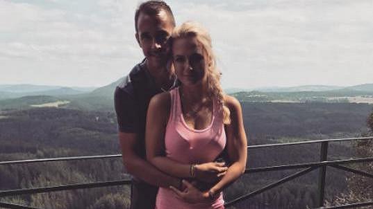 Petra Kubinová a Lukáš Rosol tvoří krásný pár.