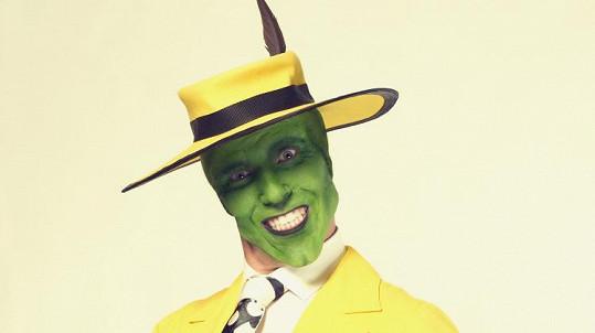 Vladimír Polívka jako Jim Carrey z Masky